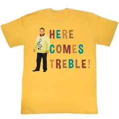Modern Family Here Comes Treble Adult Tee Shirt