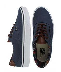 Vans Era 59 Shoes - (C) Navy/Guate $55.00 #vans #era59