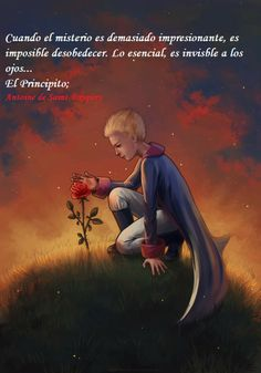 """Illustration to the story """"The Little Prince """" by Antoine de Saint-Exupery. Tools: Photoshop full view please The Little Prince Dibujos Cute, Fairytale Art, Identity Art, The Little Prince, Cute Cartoon Wallpapers, Photo Quotes, Belle Photo, Illustrations Posters, Water Lilies"""