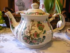 Sadler TeaPot  Vintage Tea Pot in Indian Tree by TheChinaCabinet