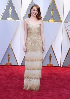 Oscars 2017: La elegancia de la alfombra roja - Emma Stone