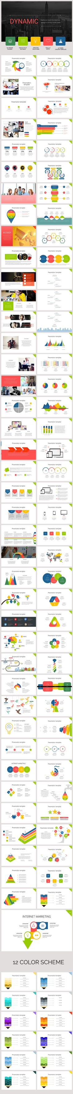 Dinamic PowerPoint Template #powerpoint #powerpointtemplate #presentation…