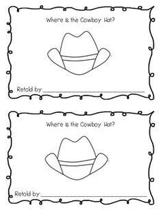 This interactive emergent reader focuses on the positional words above, below, beside, on, and between.  Little learners cut apart the boots and glue on each page according to the directions.  A cowboy and cowgirl are each provided for you to choose from.