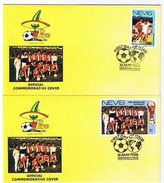 2 x First Day Covers Mexico World Cup 1986 Paraguay....  | eBay