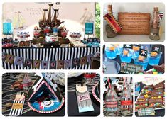 Pirate Party Birthday Party Ideas | Photo 5 of 11