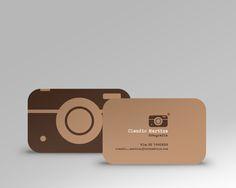 increíble tarjeta de presentación! Felicidades!Photographer Claudio Martins - Logo Design by Zargo , via Behance