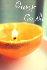 ElizaKPrints: Tutorial: How To Make An Orange Peel Candle