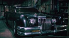 1971 customized Lincoln Continental Mark III in The Car , Movie, 1977.
