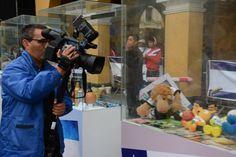 La prensa no fue esquiva. Muchos medios de comunicación llegaron a nuestra exhibición. La fiesta lo ameritaba / #sports #soccer #fútbol #colección #soccerfan #CopaAmérica #Chile2015