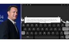 Máquina de escrever de Tom Hanks é o aplicativo + baixado na Apple Store - Blue Bus