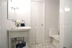 Renovated basement bathroom, Income Property HGTV