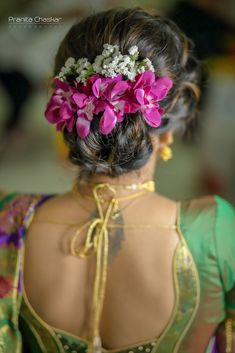 "Photo from album ""Wedding photography"" posted by photographer Pranita Chaskar Photography Indian Bridal Hairstyles, Bun Hairstyles, Bridal Hair Buns, Hairstyle Wedding, Photography Portfolio, Mehendi, Photographs, Wedding Photography, Album"