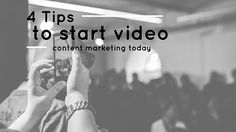 When it comes to the Internet, people love videos; four tips to get started on B2B video content publishing today.
