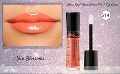 New sun blossoms lip gloss up brighten up your pout!