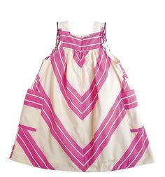 Pink Chicken NYC chevron dress.