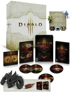 Diablo 3 Collector's Edition MAY 15th!!!  Can't wait!  It's been like ten years we've been waiting for this game!!