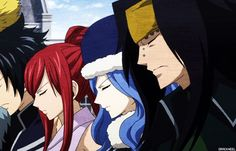 Fairy Tail's Grand Magic Games Team. Juvia