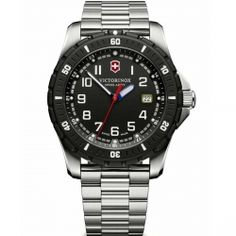 VICTORINOX Swiss Army Maverick Sport Stainless Steel Bracelet 241675