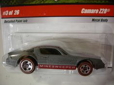 Hot Wheels Military Rods Camaro Z28 3 of 26 Minesweeper