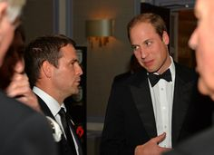 The Duke of Cambridge attends The Football Association's 150th Anniversary Gala Dinner at the Grand Connaught Rooms 26 Oct 2013