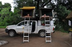 Toyota Hilux 4x4 Double Cab Equipped Botswana itinerary