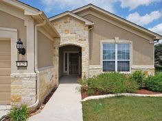 stucco and stone homes - Google Search