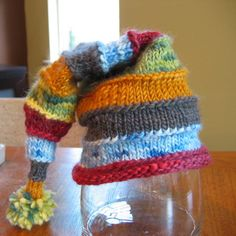 striped stocking hat by skoG_knits, via Flickr I may have to buy this book!!