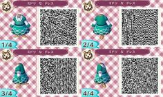 Animal Crossing New Leaf outfit teal dress
