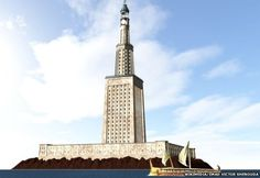 Plans to rebuild one of the seven wonders of the ancient world, the Pharos Lighthouse, have been approved by Egyptian authorities, it's reported. The feat of ancient engineering, which is also known as the Lighthouse of Alexandria, was completed around 280BC, and is estimated to have been between 110m and 130m high. The plan is to rebuild the lighthouse a few metres away from where it once stood in the coastal city of Alexandria, as the original location is now occupied by the Qaitbay…