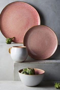 Perasima Dessert Plate by Anthropologie in Mint, Dinnerware