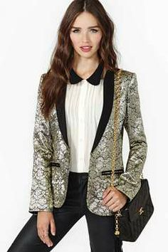 a189195992 Pleasure  amp  Privilege Blazer on shopstyle.com Fashion Sale