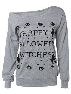 GET $50 NOW | Join RoseGal: Get YOUR $50 NOW!http://m.rosegal.com/sweatshirts-hoodies/letter-halloween-sweatshirt-730411.html?seid=6933678rg730411