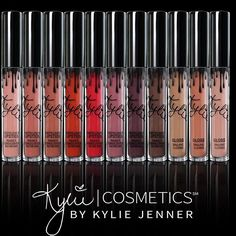 My mattes are available right now on KylieCosmetics.com #Repin @kyliejenner