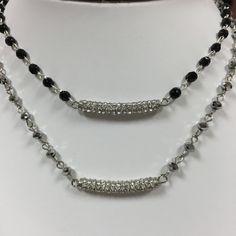 Beads & Bar Necklace