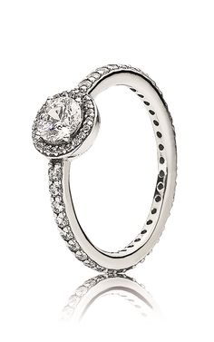 Pandora Ring Sterling Silver Cubic Zirconia Be My Valentine
