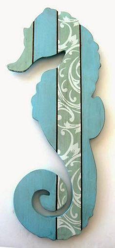 Pallet Art - Pallet Seahorse