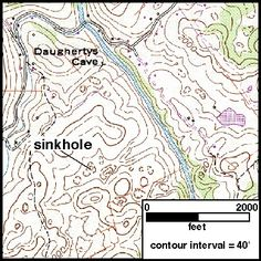 topography - Sinkhole.