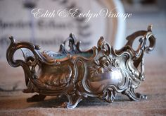Antique French Jardiniere Fernery Planter by edithandevelyn on Etsy