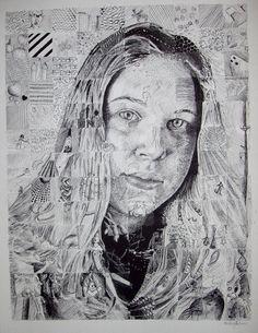 Fragmented Self Portrait by hhoal on deviantART