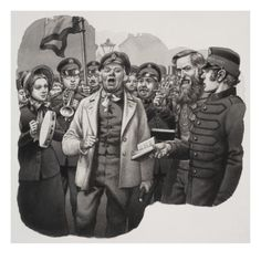 The Salvation Army Giclee Print by Pat Nicolle at Art.com