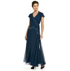 Mother-of-the-Bride Dress  R &amp M Richards® Navy Lace Jacket over ...