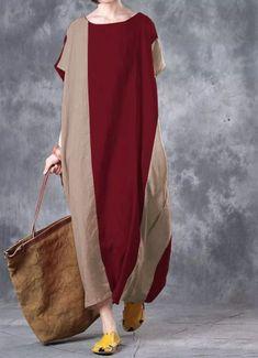 Celima Brand 2017 Summer Women Vintage Boho Casual Loose Long Maxi Dress Pockets Short Sleeve Dresses Vestidos Plus Size Online Shopping Clothes, Clothes For Sale, Clothes For Women, Clothes 2018, Long Sleeve Short Dress, Short Sleeves, Loose Shirts, Vintage Style Dresses, Casual Dresses For Women