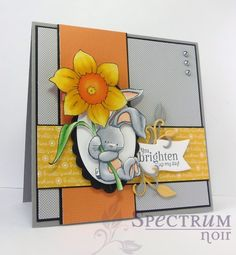 Quick and easy colouring with Spectrum Noir pens tutorial by Taylor Usry.  #SpectrumNoir #Bebunni #crafterscompanion