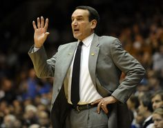 """Esquire named Mike Krzyzewski the best-dressed coach in America: """"Hate him or not, he kinda looks like he just stepped off the set of Mad Men."""" Sure, I guess, if you say so! But only when he wears his gray suits. Anyway, K seems more like a GQ guy. Basketball Court Layout, Basketball History, Basketball Coach, Love And Basketball, Basketball Uniforms, College Basketball, Ncaa College, Bob Knight, Mike Krzyzewski"""