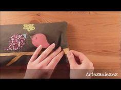 ▶ Cojin de semillas con patchwork - YouTube