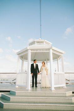 http://socalweddingconsultant.com Southern California Wedding Planner Gazebo The Queen Mary Wedding Long Beach