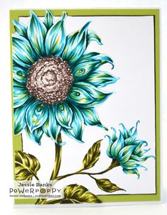 Hey everyone! Jessie  here today sharing a little no lines colouring using Sunflower Power Digital Stamp .         This image is one of...