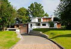 Eades Hotwani Wilkinson-designed contemporary modernist house in Water End, Hertfordshire