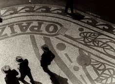 The Sidewalks of Rio de Janeiro by Martin Munkácsi, 1932 #brazil #rio