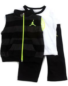 Buy 3 PC BOLD STRIPE SET (INFANT) Boys Sets from Air Jordan. Find Air Jordan fashions & more at DrJays.com
